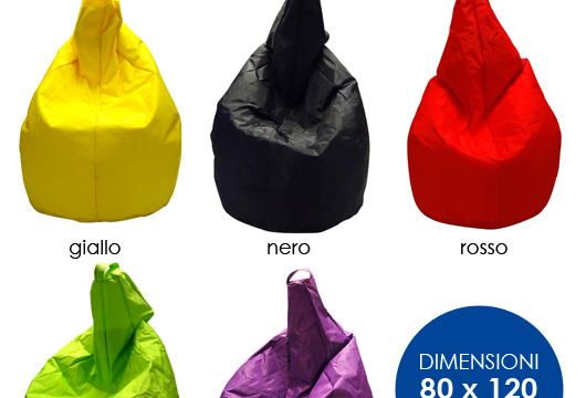 Pouf sacco top comfort e relax il pouf sacco with pouf sacco gallery of pouf sacco leatherette - Pouf a sacco ikea ...
